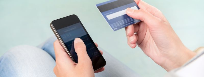 credit card process by phone
